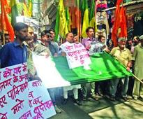 Dogra Front protests against killing of army personnel