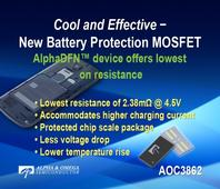 Alpha and Omega introduces the AOC3862 for battery protectio ...
