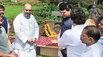 Amit Shah meets small alliance partners