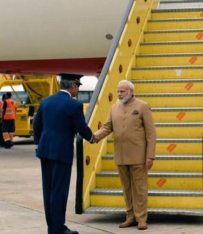 PM Modi arrives in Portugal on first leg of 3 nation visit