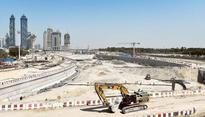 Dubai Water Canal work in final stage