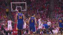 Goldenstate drain an incredible 21 three-pointers against the Rockets