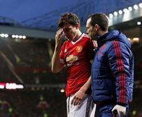 United defender Darmian taken to hospital