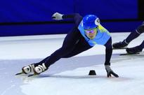 Kazakh speed skater claims silver at ISU Short Track World Cup