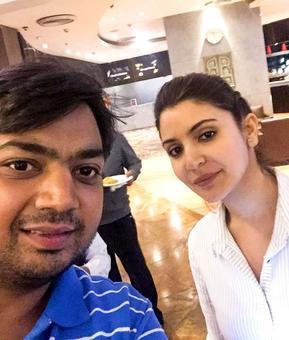 Spotted: Anushka Sharma at Delhi airport