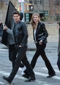 Karlie Kloss beams as she strolls with handsome man in NYC