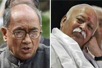 RSS an Unregistered Organisation; Should Reveal Unaccounted Money, Says Digvijaya