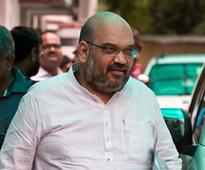Amit Shah exhorts party workers to wipe out Congress from Gujarat