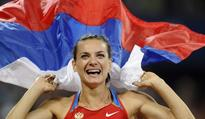 Isinbayeva Named Youth Olympics Ambassador