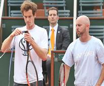 Andy murray may stick with coach jamie delgado long term