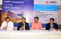 AMRI Hospitals Bhubaneswar launched most advanced Computer navigated Knee and Hip replacement surgery facility first time in Odisha