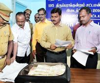 Rs. 40 lakh unaccounted cash seized near Madurai