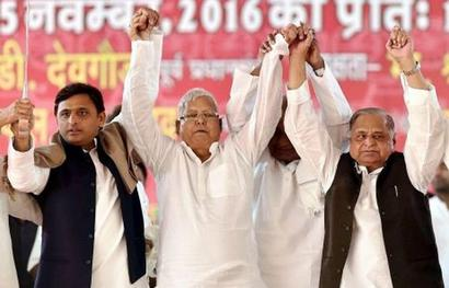 Akhilesh, Maya to attend Lalu's Patna rally