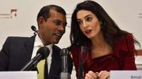 Maldives ex-president 'given UK asylum'