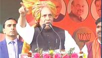 UP polls: 'Acche din' will come in UP after BSP, SP are wiped out, says Rajnath Singh