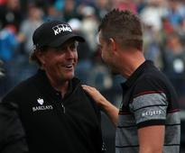 Phil Mickelson reflects on Royal Troon as he readies himself for the US PGA
