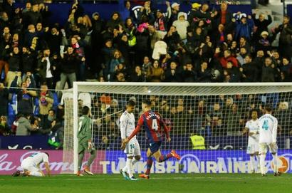 Struggling Real Madrid held by Levante