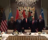 Foreign Minister of Kyrgyzstan participates in meeting of Central Asian countries and the U.S. C5 + 1 ministerial meeting