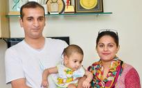 Pakistan child gets hearing back in Delhi hospital