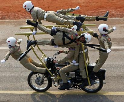 When BSF's all-woman bike squad left us stunned