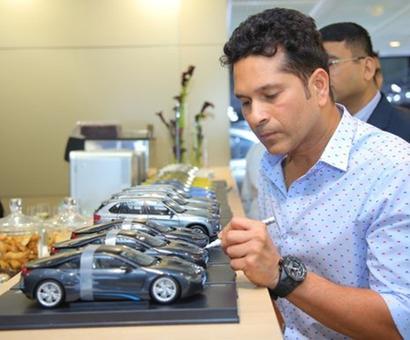 Made in India! Sachin Tendulkar launches BMW 7 series, X1