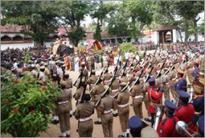Navarathri idol procession begins with police escort