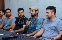 Cricketer Irfan Pathan in Mangaluru, wishes luck to MPL players
