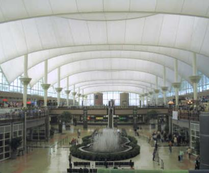 Denver airport evacuated over security threat
