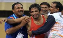 Amit Dhankar bags gold, helps India win Freestyle trophy