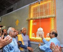 History comes to life at south Delhi Metro station