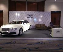 The Think Tank Entertainment's Setup For Bentley at The Indian Luxury Expo, Vizag