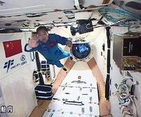 Astronaut's space diary describes work schedule as 'pretty tight'