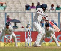 Following is the scoreboard at lunch in 2nd Test between India and New Zealand at the Eden Gardens