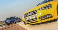 Audi S5 vs Range Rover Sport SVR vs BMW X6 M vs Mercedes-AMG GT S