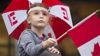 Canada Day celebration on Parliament Hill