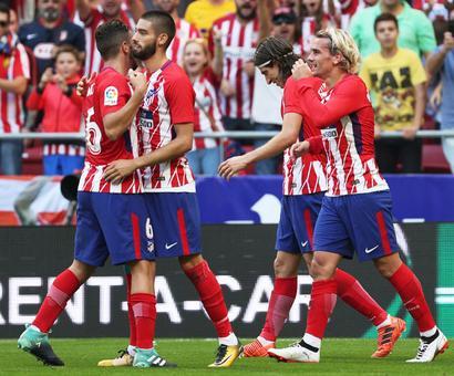 La Liga: Atletico Madrid down Sevilla to go second