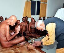 India should be called only Bharat, Jain sect monk tells PM Narendra Modi