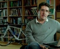 Paul Kimmage in a 