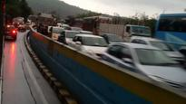 Mumbai-Pune Expressway: Toppling of vehicle leads to nightmare for motorists