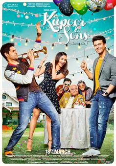 Like the first poster of Kapoor & Sons?