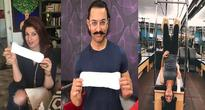 Bollywood stars accept 'Pad Man Challenge', poses with sanitary pad