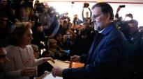 Election - Exit polls: Strong showing in Spain vote by upstart parties
