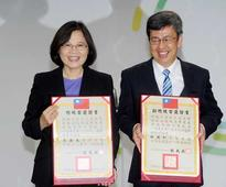 Tsai Ing-wen feels the 'responsibility' of win in presidential election