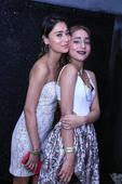 Too Hot to Handle! Sara Khan Flaunts Her Cleavage in Sexy White Dress at Sister's Birthday Bash