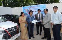 Ashwani Kumar, CMD Dena Bank presides the Mumbai Vehicle Loan Carnival program to promote Retail Loans