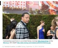 Academy confuses Cuba Gooding Jr. and Terrence Howard In a tweet, the Television Academy stated that Gooding was arriving at the red carpet when it was in fact Howard, the star of Empire.