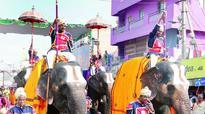 Tuskers add to majesty of Goddess Padmavathi