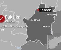 Two Police, Three Insurgents Killed in Paktika Clashes
