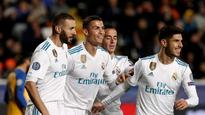 WATCH | Champions League: Cristiano Ronaldo, Karim Benzema doubles help Real Madrid thrash Apoel