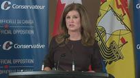 Rona Ambrose questions raising HST in New Brunswick budget